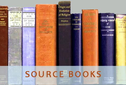 COMING SOON!<br>Links to online texts<br>of source books<br>