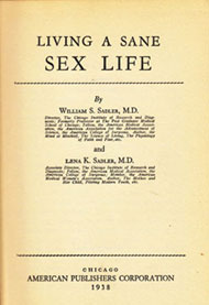 Living a Sane Sex Life