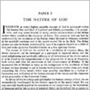 Paper 2 - The Nature of God