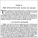 64. The Evolutionary Races of Color