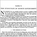 70. The Evolution of Human Government