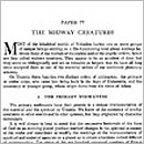Paper 77 - The Midway Creatures
