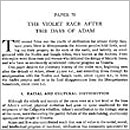 Paper 78 - Violet Race After the Days of Adam
