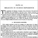 100. Religion in Human Experience