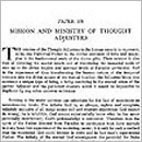 Paper 108: Mission and Ministry of Thought Adjusters