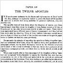 139. The Twelve Apostles