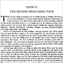 149. The Second Preaching Tour
