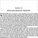 170. The Kingdom of Heaven
