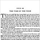 188. The Time of the Tomb